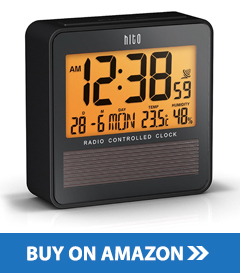 best digital travel alarm clock