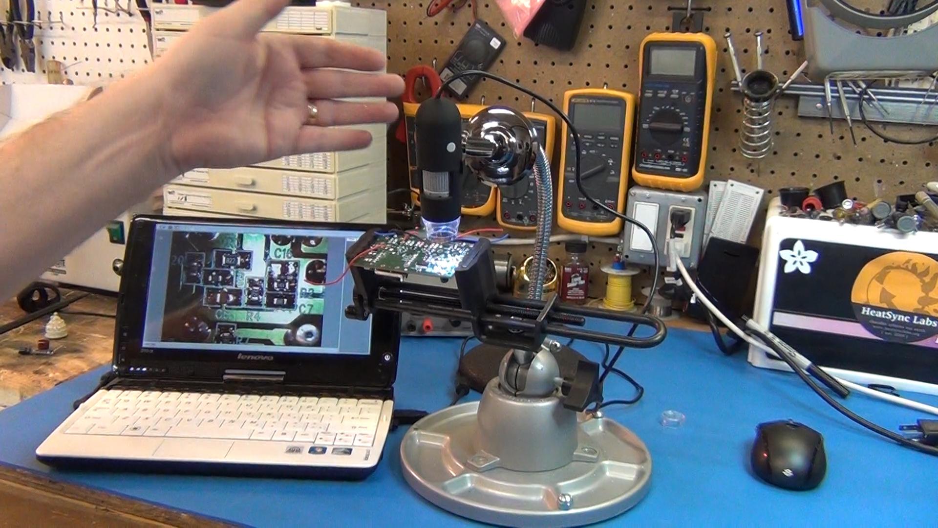 Микроскопы usb своими руками