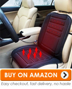 This One Appears To Be Identical To The First One, So Weu0027ll Repeat That  Review In A Moment. First, Itu0027s Worth Noting That A Heated Seat Is Great  For Long ...
