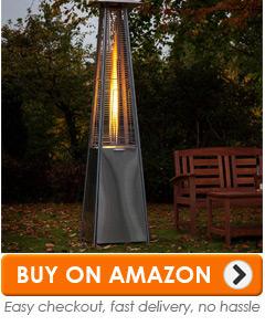 3: Pyramid Living Flame Patio Heater