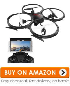 1 DBPower U818A Wi Fi Drone
