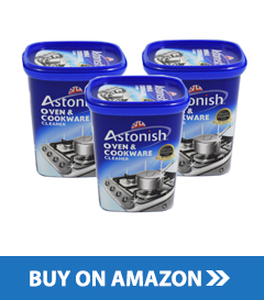 3 x Astonish Oven and Cookware Cleaner