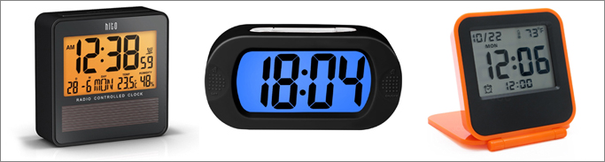 best digital travel alarm clock