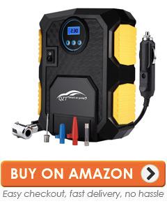 Tyre Inflator, QZT Portable Air Compressor
